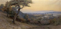 a view across the vale of evesham by walter follen bishop