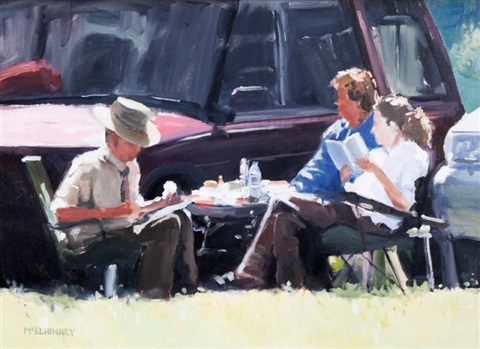 lunch at the show by david mcelhinney
