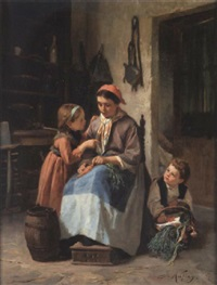 mother's little helpers by joseph athanase aufray