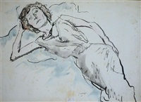 le portrait d'hermine david by jules pascin