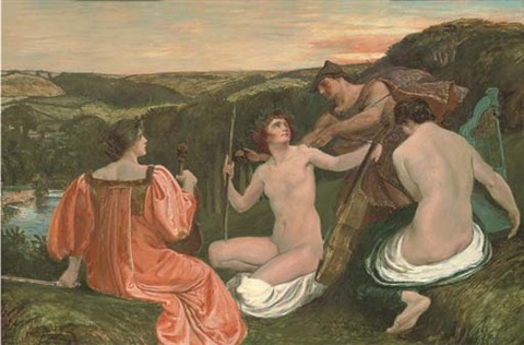 the judgement of paris by charles holroyd