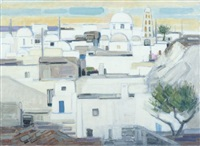 village de messaria, grèce by ginette rapp