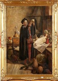 l'alchimiste by joseph léopold ratinckx