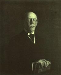 portrait of francis amory by joseph de camp