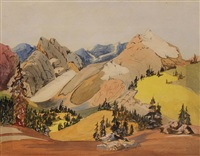 rockies by murray william macdonald