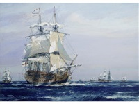 h.m.s. namur by jack spurling