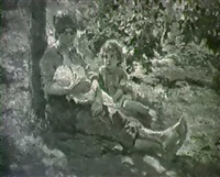 mere et enfant by alfredo vaccari