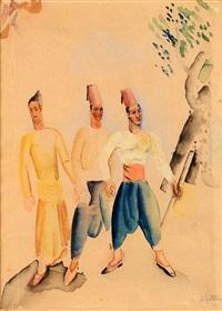 trois ottomans by nachum gutman