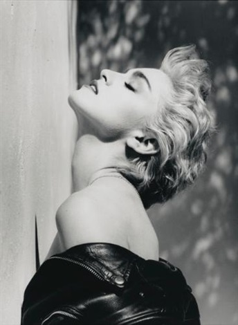 madonna true blue hollywood by herb ritts