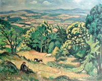 paysage de provence by louis charlot