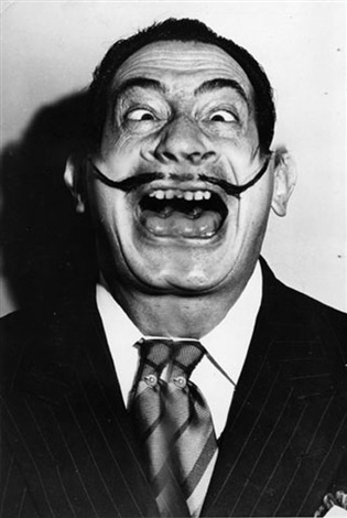 salvador dali surimpression by weegee