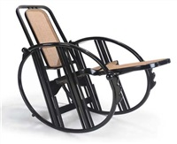 rocking chair by antonio volpe