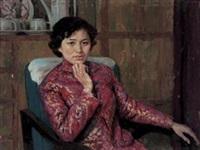 肖像 (portrait) by deng jiaju