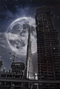 a night in dubai by caroline cabat