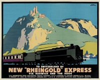 new rheingold express by frank newbold