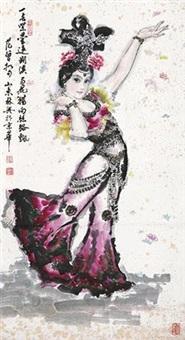 丝路花雨图 by xue linxing