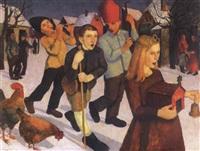 betlehemesek (christmas) by endre hegedüs