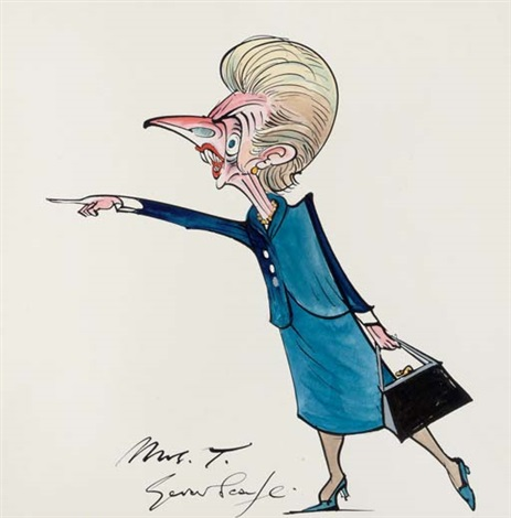 mrs t by gerald scarfe