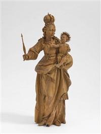 maria mit kind by christoph angermair