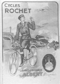 cycles rochet by posters: sports - cycling