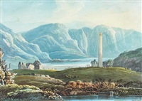 glendalough, county wicklow by john henry campbell