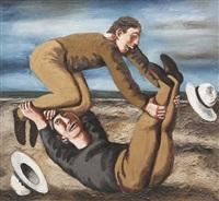 les hommes et la roue by natalia nesterova