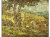 paysage d'auvergne by georges bouche