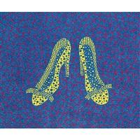 high heels(4)(kusama 262 by yayoi kusama