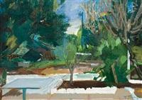 garden view by panayiotis tetsis