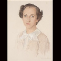 porrtait of ruth winslow by florence lockwood