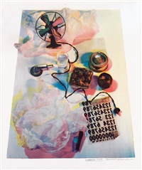 shadow play by robert rauschenberg