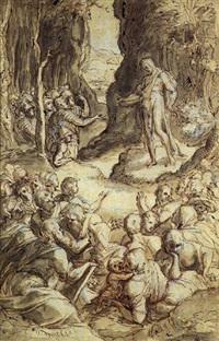 la prédication de saint jean-baptiste by giovanni (il cosci) balducci