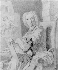 self portrait of the artist by giovanni domenico campiglia