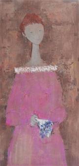 figura femenina (pair) by mario darío grandi