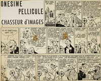 onesime pellicule chasseur d'images (39 works) by marijac