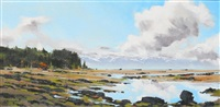 summer tides (a beautiful day on the coast of vancouver island) by allan dunfield