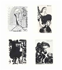 fernando de rojas, la célestine, editions de l'atelier crommelynck, paris, 1971 (set of 66) by pablo picasso