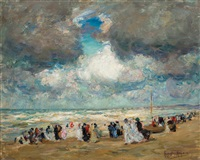 a day at the beach by augustus koopman