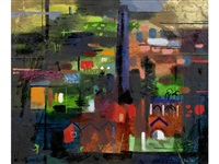 mill and hill tower by john piper