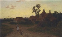 a kentish farm by william (will.) anderson