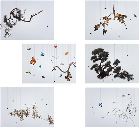 speak, memory (6 works) by hong lei