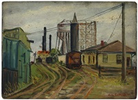 long beach railroad siding by sid gotcliffe