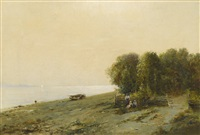 on the shores of the dnieper by sergei ivanovich vasil'kovsky