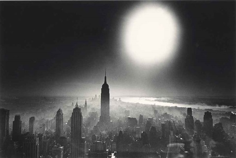 atom bomb sky new york by william klein