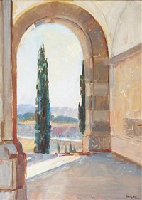 view from the union buildings, pretoria by john henry amshewitz