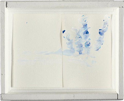 boxed framed drawing 2 by richard tuttle