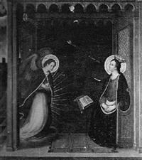 the annunciation by giotto (ambrogio bondone)