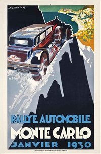rallye automobile monte carlo by robert falcucci