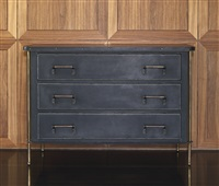 chest of drawers by jacques adnet