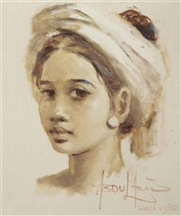 balinese girl by abdul aziz